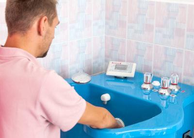 Hydroterapia zabiegi podczas turnusu