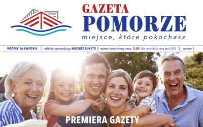 """Bezpłatna """"Gazeta Pomorze"""" – Numer 1 – Dziękujemy, żejesteś!"""