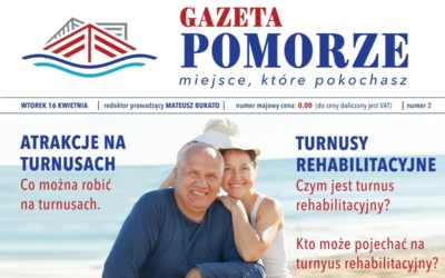 """""""Gazeta Pomorze"""" – Numer 2 – Turnusy rehabilitacyjne co musisz wiedzieć"""