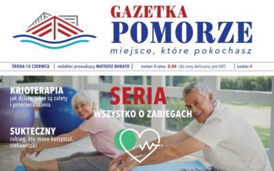 """""""Gazeta Pomorze"""" – Numer  4 – Seria """"Wszystko ozabiegach"""" – Krioterapia"""