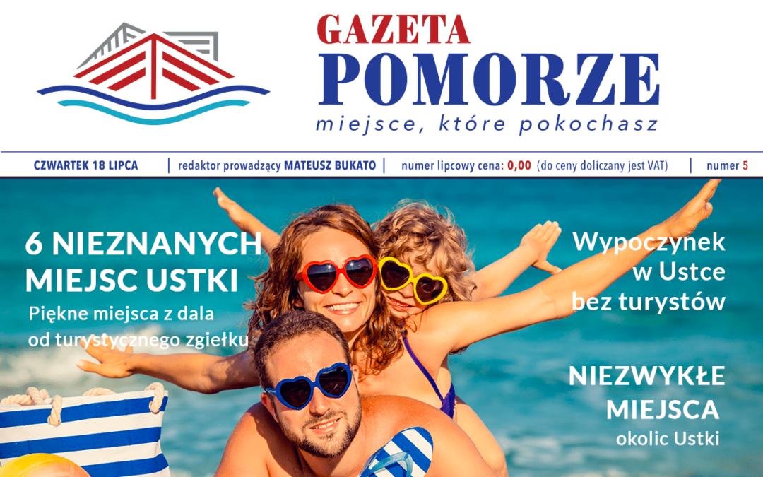 """""""Gazeta Pomorze"""" – Numer  5 – Nieznane miejsca Ustki"""