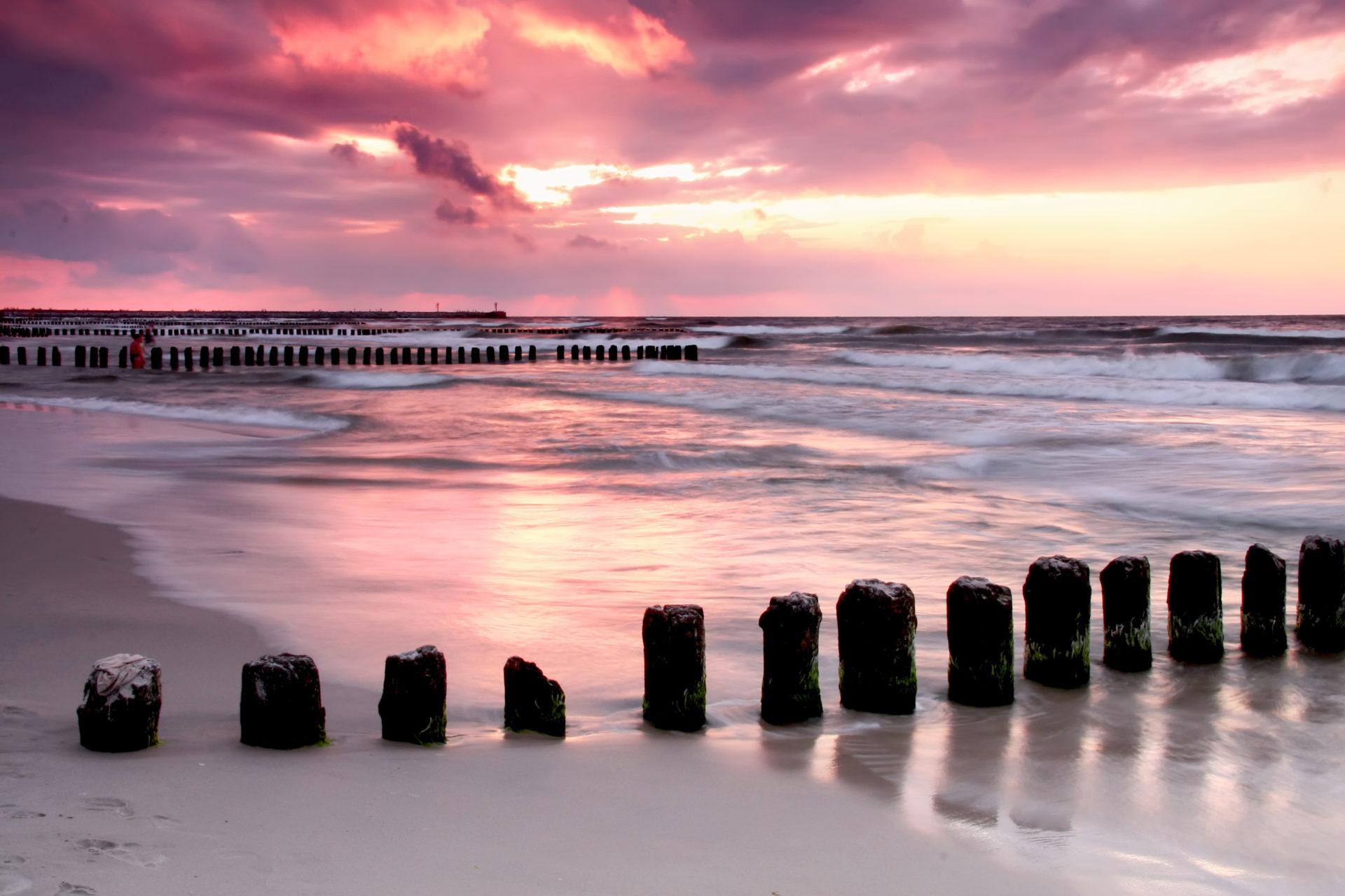 plaża wustce