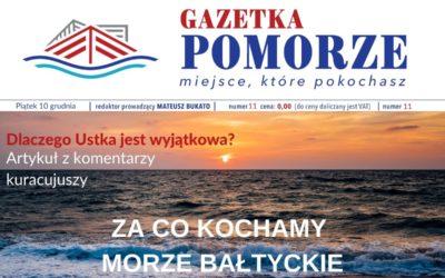 """""""Gazeta Pomorze"""" – Numer  11 – Zaco kochamy Morze iUstkę"""