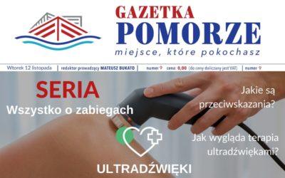 """""""Gazeta Pomorze"""" – Numer  9 – Wszystko ozabiegach – Ultradźwięki"""