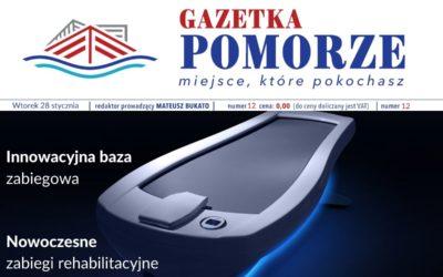 """""""Gazeta Pomorze"""" – Numer  12 – Nowoczesna baza zabiegowa"""