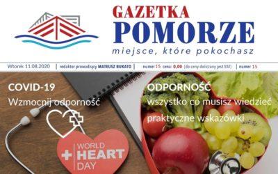 """""""Gazeta Pomorze"""" – Numer  15 – Jak wzmocnić odporność"""